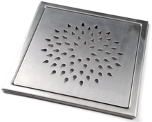 Klinkerram Steila, 200x200 mm, borstat rostfritt stål