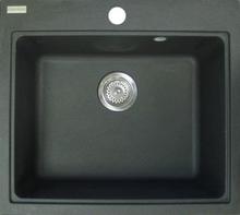 Franke Fiji Fig 610-50 Diskho 56x49,5 cm m/korgventil - grafit metallic