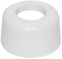 Täckbricka Vit Plast 40 mm