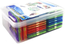 eStore Magnetisk Byggsats med Klistermärken, 60 delar
