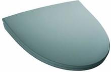 IDO Glow toalettsits i hårdplast m/soft close & quick release - Mörkgrå