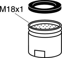 Gustavsberg Strålsamlare M18x1