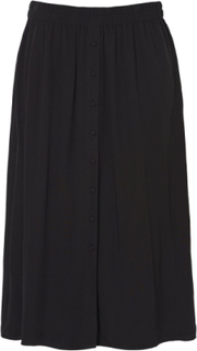 VERO MODA Midi Skirt Women Black