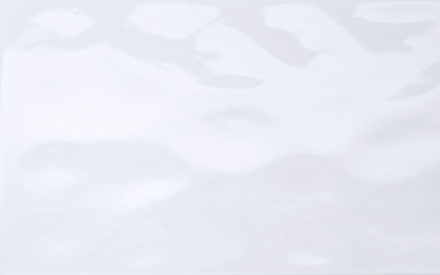 kakel vit blank vågig