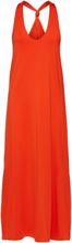 SELECTED Sleeveless - Maxi Dress Women Orange
