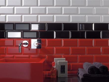 kakel plaqueta metro rojo fasad röd blank