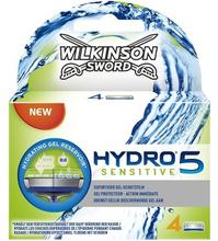 Wilkinson Sword Hydro 5 Sensitive partaterä 4 kpl