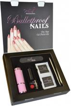 Pretty Professional Bulletproof Nails Gel Polish Kit Glam 8 ml + 4 stk