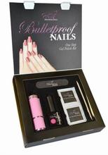 Pretty Professional Bulletproof Nails Gel Polish Kit Power Pink 8 ml + 4 stk