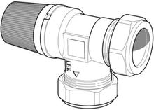 Nibe säkerhetsventil 22 mm 2,5 bar