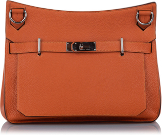 Hermes Clemence Birkin, orange
