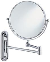 HeFe Valet Sminkspegel med utdragbar arm. Väggmodell.