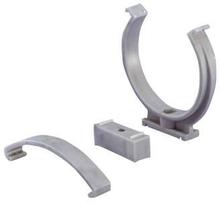 PP Rörklammer/rörhållare vit 32mm