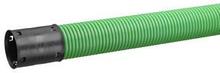 Kabelskyddsrör SRN, dubbelväggstyp (korrugerad utsida, slät insida), 50/42 x 6 m - Grön
