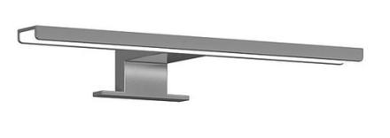 Gustavsberg Graphic lampa till Graphic spegelskåp, bredd 30 cm