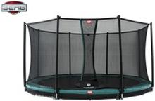 BERG Favorit InGround 430cm Trampolin Til Nedgravning + Comfort Sikkerhedsnet