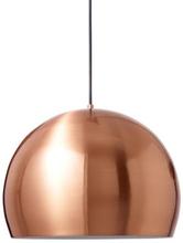 Nice Klotformad pendellampa Ø35 cm, Borstad koppar