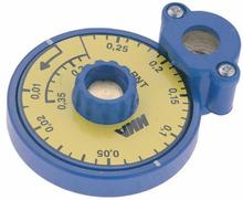 MMA förinställningsverktyg med skala för RNT-ventiler