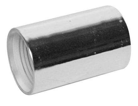 Muff 32 mm - Krom
