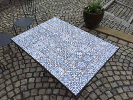 klinker fs faenza-a vit/blå mönstrad