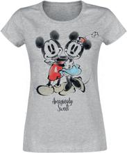 Mickey Mouse - Amazingly Sweet -T-skjorte - gråmelert