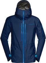 Norrøna Lofoten Gore-Tex Pro Jacket Men Herre skijakker ufôrede Blå XL