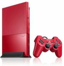 PlayStation 2 Slim Rød