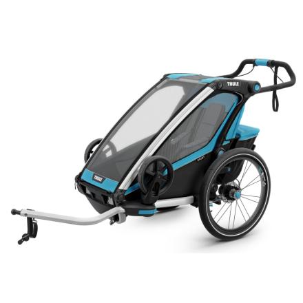 Thule Chariot Sport1 (2018) Cykel- & Barnvagn Blå OneSize