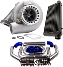 GT3582 Turbo compatible for Ford Falcon BA/BF XR6 FPV and 64mm Pipe Kits and Intercooler 76mm