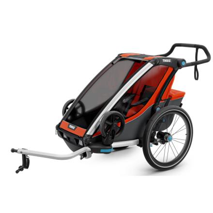 Thule Chariot Cross1 (2018) Cykel- & Barnvagn Orange OneSize
