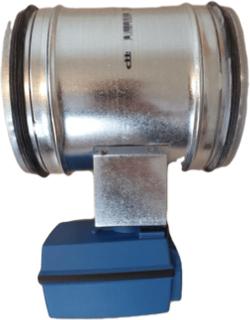 Motorspjäll snabbstängande 160 mm