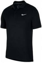 NIKE Court Dry Polo Team Mens Black (XL)