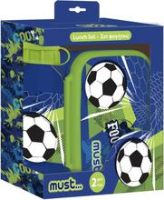 Fodbold Madkasse Og Drikkedunk