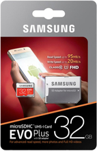 Original Samsung MicroSDHC Card 32GB EVO Plus UHS-1 Inkl. SD Adapter