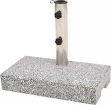 vidaXL Parasollfot granit rektangulär 25 kg