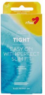 RFSU Tight Condoms 30-Pack Intim Transparent