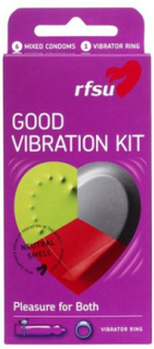RFSU Good Vibration Kit Intim Transparent
