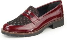 Loafers från Peter Hahn röd