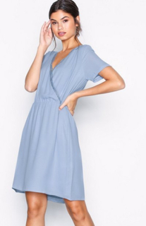 Samsøe Samsøe Doris s dress 3973 Loose fit Dusty Blue