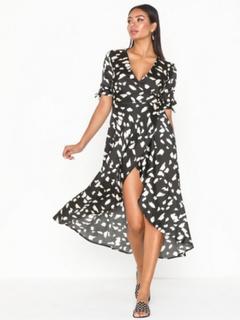 Ax Paris V Neck Dress Kjoler
