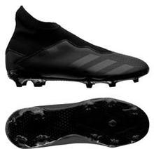 adidas Predator 20.3 Laceless FG/AG Shadowbeast - Musta/Harmaa Lapset