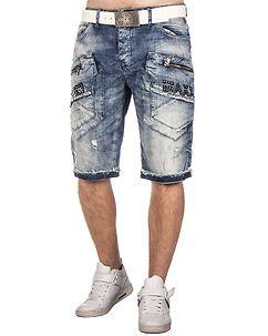 CK169 Denim Shorts Light Blue