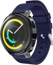 Samsung Gear Sport Klokkereim laget av silikon - Mørkeblå