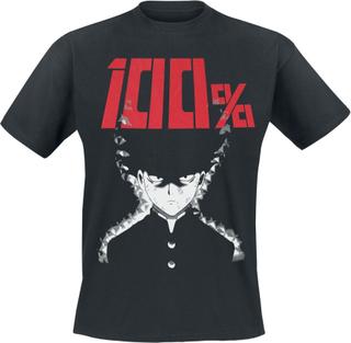 Mob Psycho 100 - 100% -T-skjorte - svart