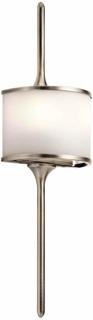 LED-vegglampe Mona – høyde 55,9 cm