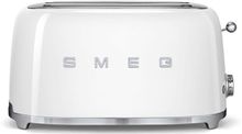 Smeg - Smeg Toaster 4 skiver, Hvid
