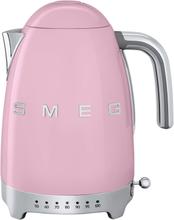 Smeg - Smeg Vannkoker Med Variabel Temperatur 1,7L, Rosa