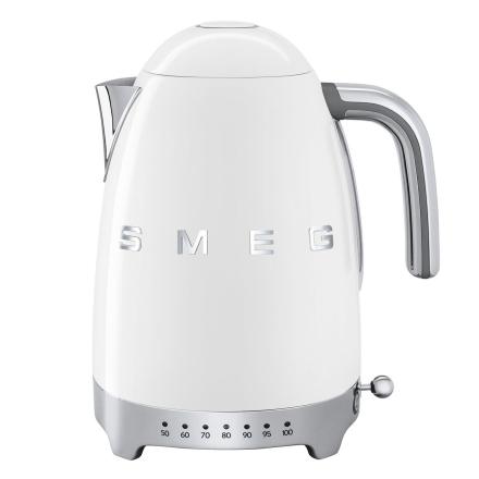 Smeg - Smeg Vannkoker med temperatur 1,7L, Hvit