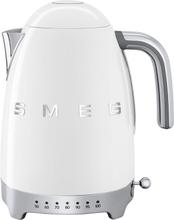 Smeg - Smeg Vannkoker Med Variabel Temperatur 1,7L, Hvit