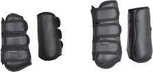 HORKA Benskydd för häst Workout 4 st svart strl. S 180662-0002